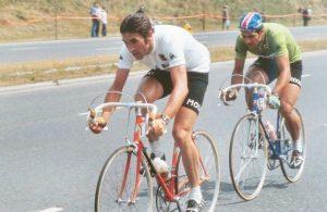 1974 Gualazzini sulla ruota di Merckx